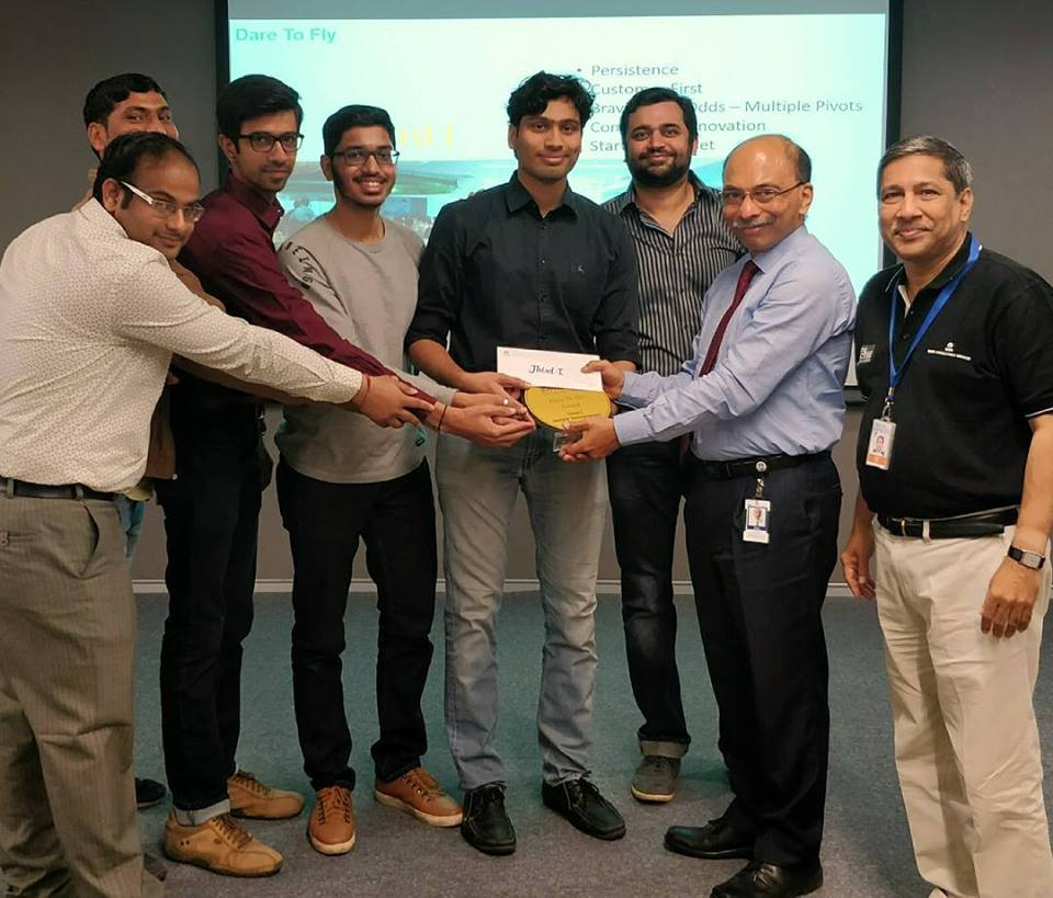 Awarded by TCS CTO Ananth Krishnan