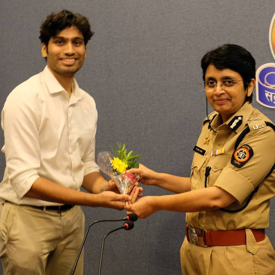 Felicitated by ADG