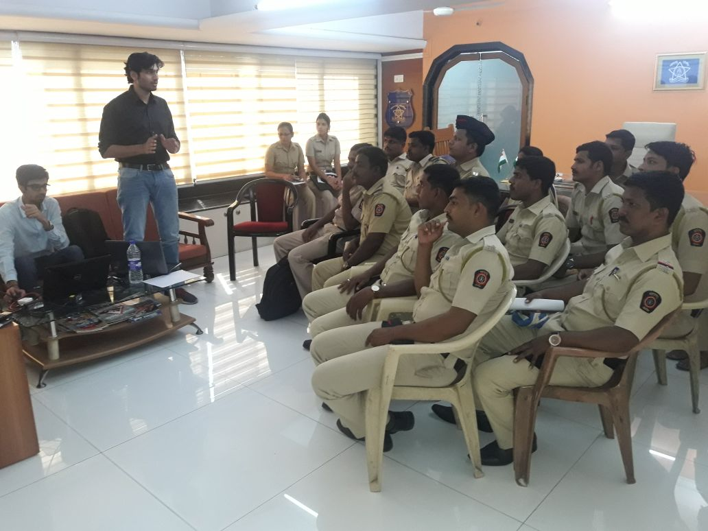 Discussion With Palghar Police