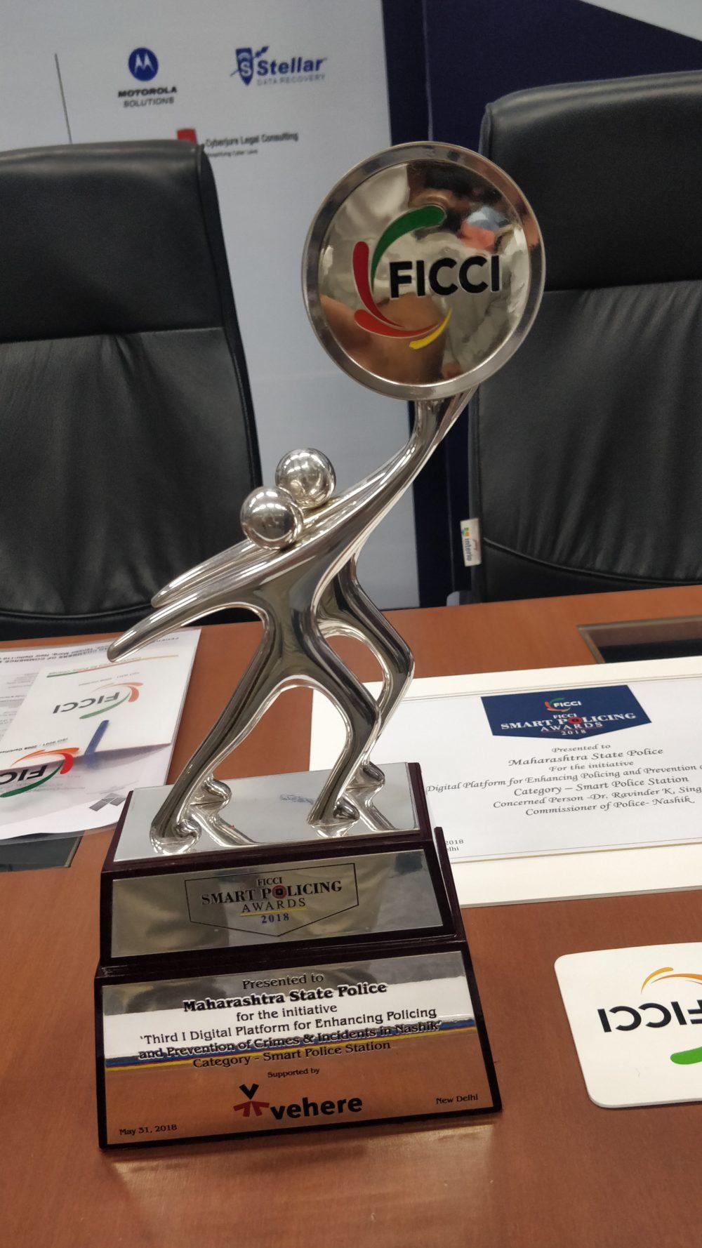 FICCI's Smart Policing Award