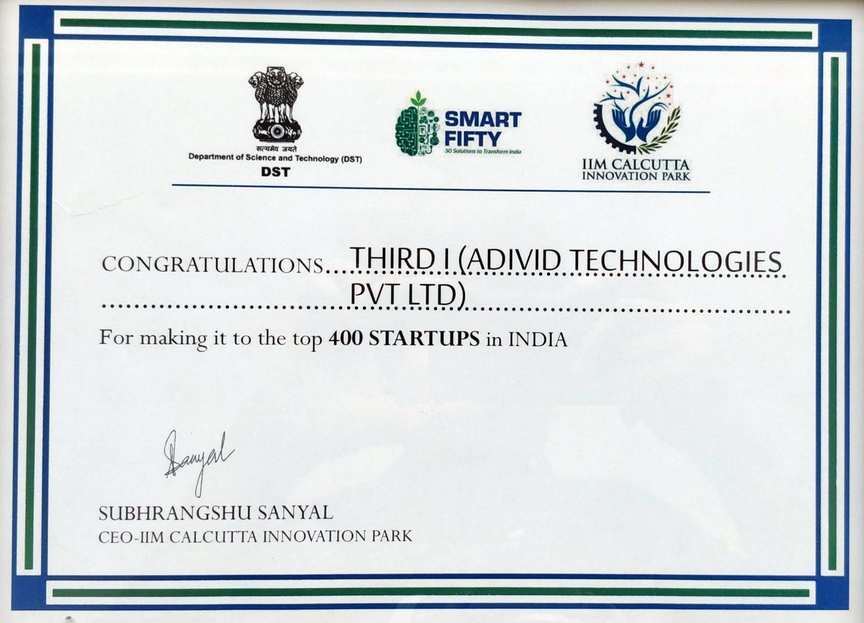 Smart 50 Award