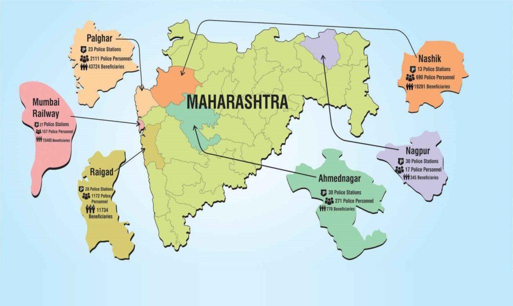Third I Maharashtra Map