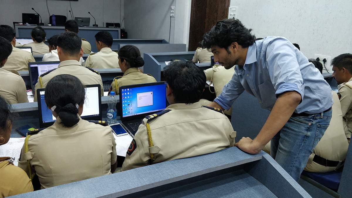 Training at Palghar